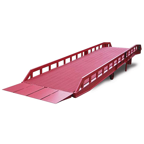 Picture showing a rear view of a Glosrose Loading Ramp
