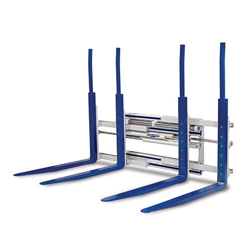 Picture showing a front-view of a Cascade Multiple Pallet Handler