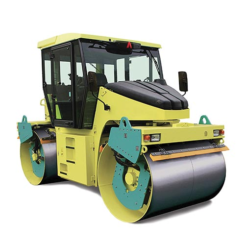 Picture showing an Ammann Roller