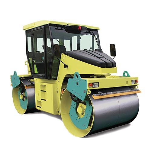 Picture showing an Ammann Roller